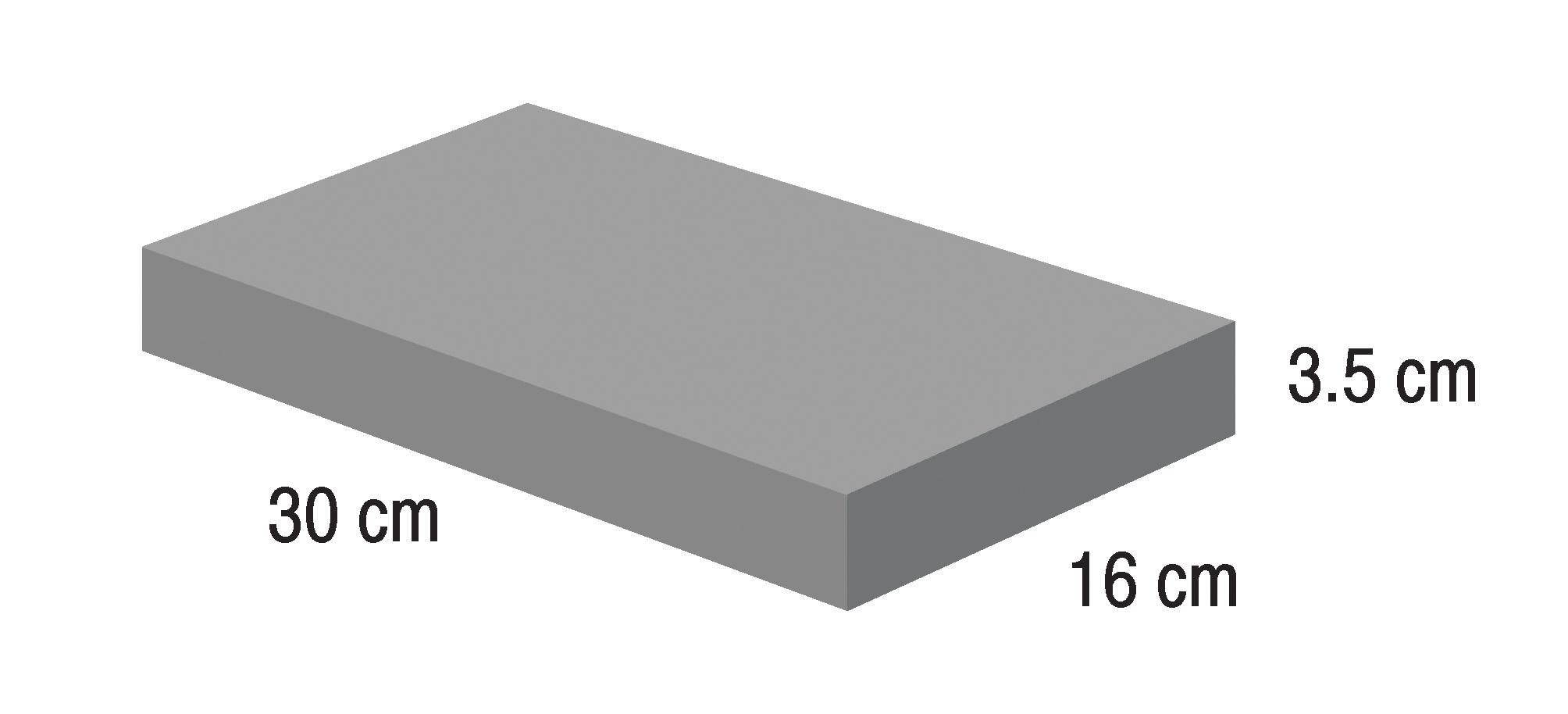 IS-FM-SRN-BLK-163003(5)  Block Small  Raw