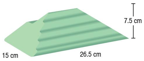 TA-YCAA  Adult Finger Block  15 x 26.5 x 7.5 cm  Stealth