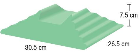 TA-YCAB  Bilateral Adult Finger Block  30.5 x 26.5 x 7.5 cm  Stealth