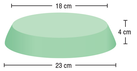 TA-YCAK  Circular Head Block  23 / 18 x 4 cm  Stealth