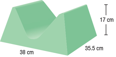 TA-YCAM  AP/PA Adult Head Holder  38 x 35.5 x 17 cm  Stealth