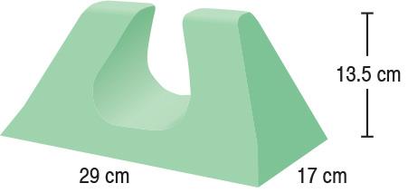 TA-YCAQ  Child Head Immobiliser  29 x 17 x 13.5 cm  Stealth
