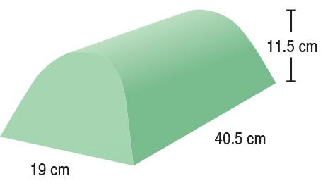 TA-YCAR  Cervical Head Rest  40.5 x 19 x 11.5 cm  Stealth