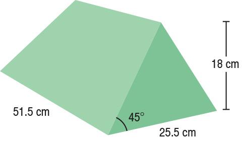 TA-YCBB  45° Wedge  51.5 x 25.5 x 18 cm  Stealth