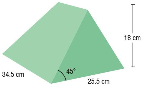 TA-YCBC  45° Wedge  34.5 x 25.5 x 18 cm  Stealth