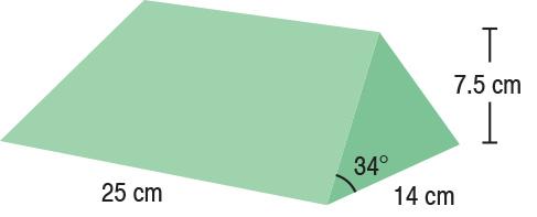 TA-YCBE  34° Wedge Set (x2)  25 x 14 x 7.5 cm  Stealth