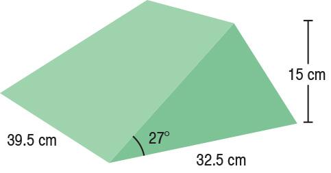 TA-YCBF  27° Wedge  39.5 x 23.5 x 15 cm  Stealth