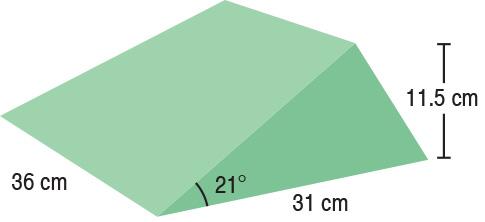 TA-YCBG  21° Wedge  36 x 31 x 11.5 cm  Stealth