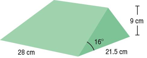 TA-YCBH  16° Wedge Set (x2)  28 x 21.5 x 9 cm  Stealth