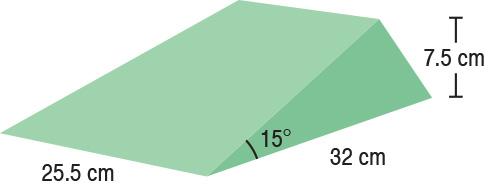 TA-YCBI  15° Wedge Set (x2)  25.5 x 32 x 7.5 cm  Stealth