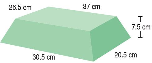 TA-YCBM  Bariatric Rectangle  37.5 / 30.5 x 26.5 / 20.5 x 7.5 cm  Stealth