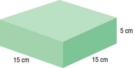 TA-YCBV  Rectangle  15 x 15 x 5 cm  Standard
