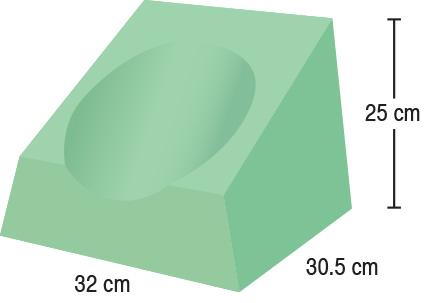 TA-YCBW  CT Headrest  32 x 30.5 x 25 cm  Standard