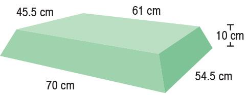 TA-YCBY  Rectangle  70 / 61 x 54.5 / 45.5 x 10 cm  Stealth