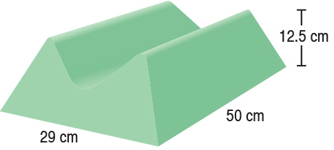 TA-YCCB  Medium Extremity Block  29 x 50 x 12.5 cm  Stealth