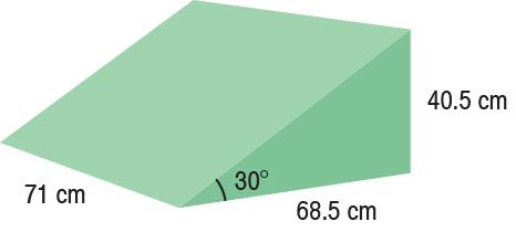 TA-YCDB  45° Wedge  71 x 68.5 x 40.5 cm  Standard