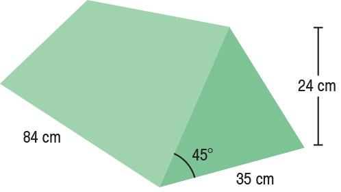 TA-YCEA  45° Wedge  84 x 35 x 24 cm  Stealth