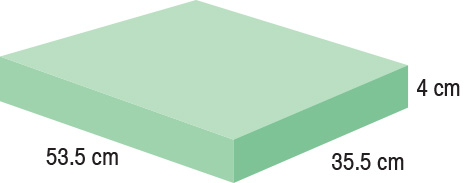 TA-YCEO  Rectangle  53.5 x 35.5 x 4 cm  Standard