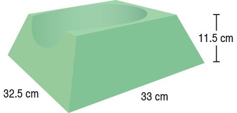 TA-YCET  CT/Cath Lab Headrest  32.5 x 33 x 11.5 cm  Standard