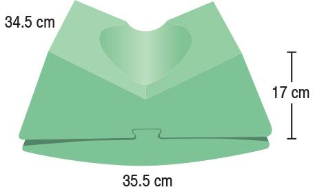 TA-YCEV  Convertible CT Headrest  35.5 x 34.5 x 17 cm  Standard