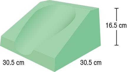 TA-YCEW  Philips CT Headrest  30.5 x 30.5 x 16.5 cm  Standard