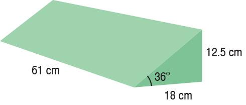 TA-YCHB  Bariatric Spinal Wedge  61 x 18 x 12.5 cm  Standard