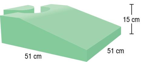 TA-YCUZ  Endo-Ultrasound Wedge  51 x 51 x 15 cm  Stealth